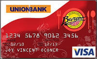 Union Bank Burgoo Visa Card