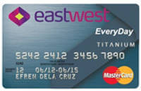 EastWest Bank EveryDay MasterCard