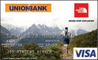 Union Bank North Face Visa Card