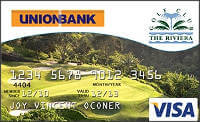Union Bank Riviera Golf Club Visa Card