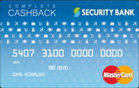 Security Bank Complete Cashback Card