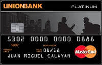 Union Bank Platinum MasterCard