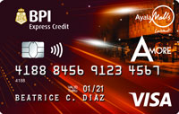 BPI Ayala Malls Amore Card