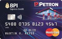BPI Petron Credit Card