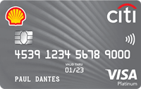 Citi Shell Card Card