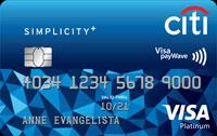 Citi Simplicity+ Card