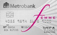 Metrobank Femme Signature Visa