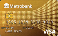 Metrobank Gold Credit Card
