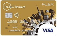 RCBC Bankard Flex Gold Visa Credit Card