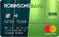 Robinsons Bank Platinum DOS Mastercard