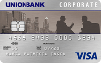 Union Bank Corporate Visa Card