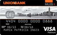 Union Bank Miles + Platinum Visa Card