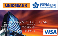 Union Bank Cebu Parklane International Hotel Visa Card