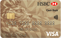 HSBC Gold Visa Cash Back Card