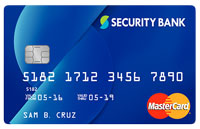 Security Bank Classic MasterCard