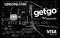 Union Bank Cebu Pacific GetGo Platinum Credit Card